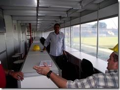 Edilson e Alano nas Cabines do PV