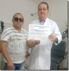 Dr. Jorge Eldo e Irapuan Monteiro